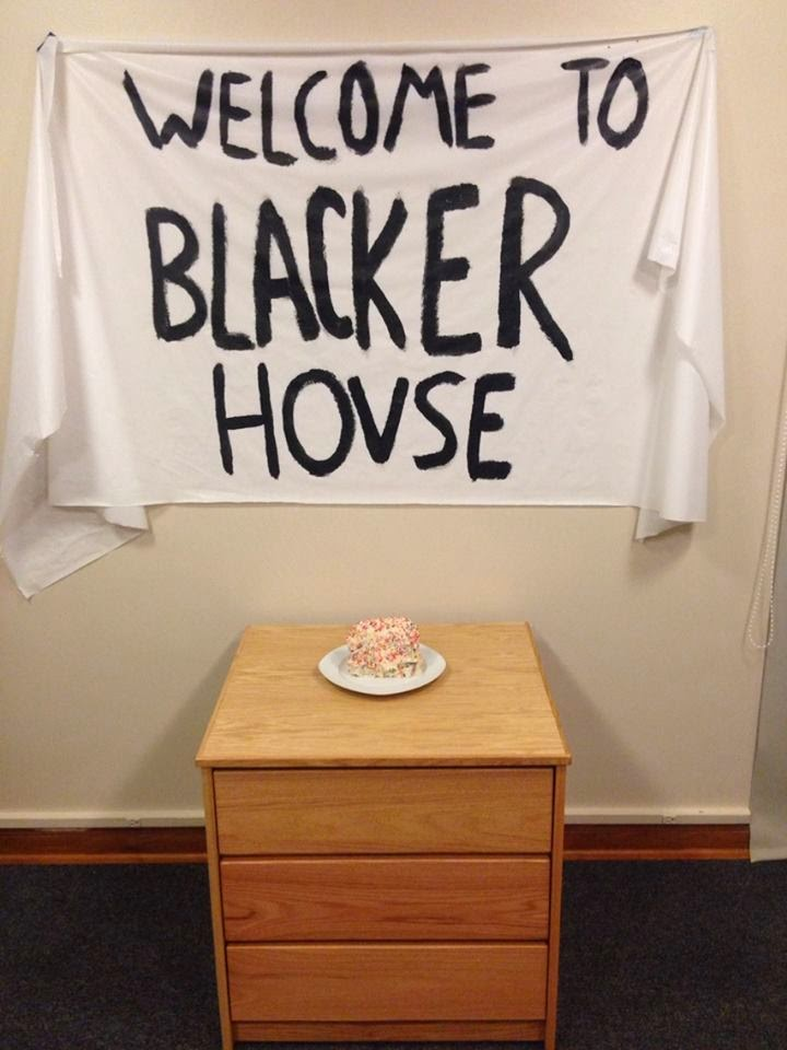Continuing the tradition of welcoming a new RA in style.
